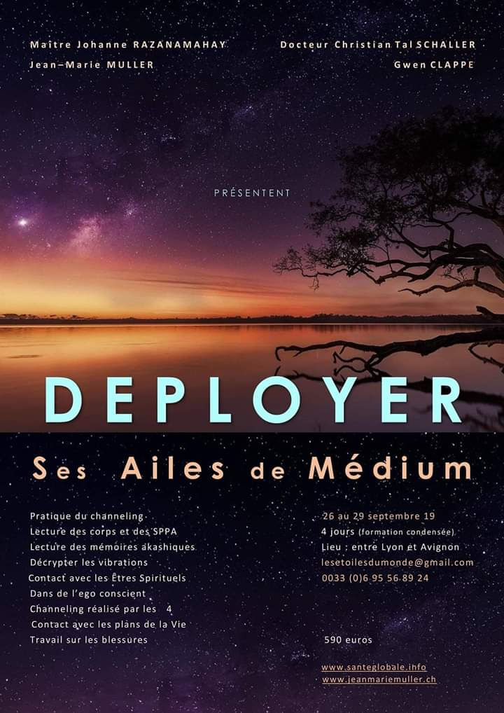 Déployer ses Ailes de médium